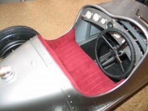 Pocher K71 Alfa Romeo cockpit