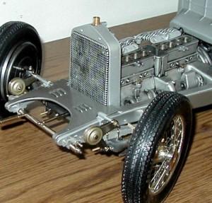 Pocher K71 Alfa Romeo grill