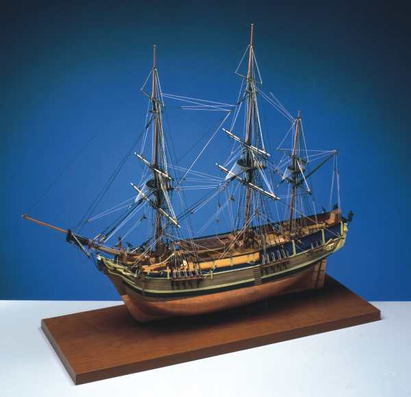 The Modeller's Workshop » Jotika 9008 H.M.A.V. Bounty 1/64 scale wood ship kit