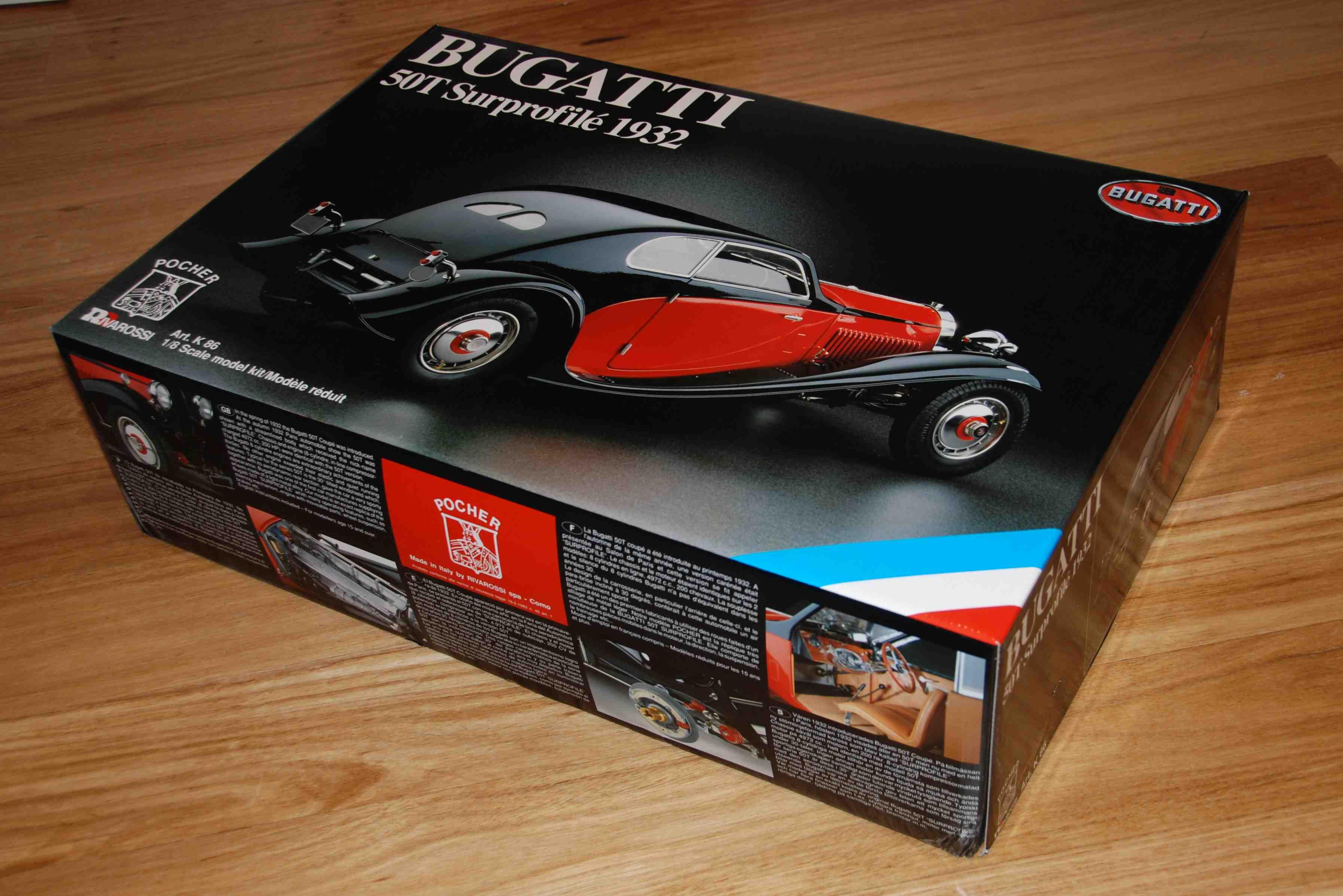 The Modeller U0026 39 S Workshop U00bb Pocher K86 1932 Bugatti 50T