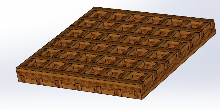 Gratings-quarter-inch-7-x-7