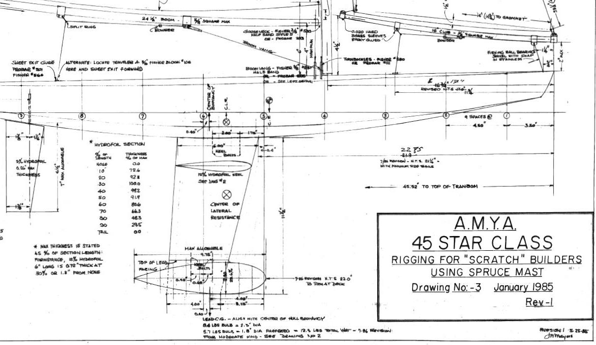 Star 45 1985 drawings section 1