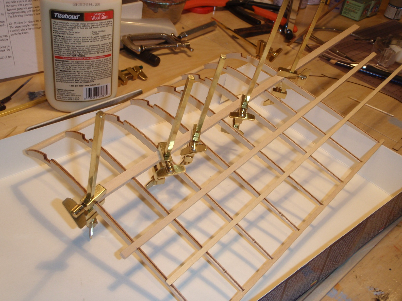 Model Display Cases >> The Modeller's Workshop » Amati 1712-01 1909 Bleriot XI 1/10 scale Built for the Canadian Air ...