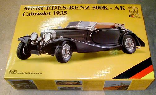 The Modeller S Workshop 187 Pocher K93 Mercedes Benz 500k Ak