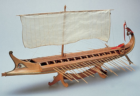 The Modeller S Workshop 187 Amati 1404 Greek Bireme Wood