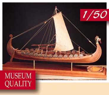 The Modeller S Workshop Amati 1406 01 Viking Ship 1 50