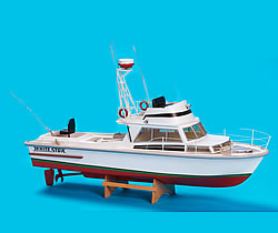 The modeller 39 s workshop billings boats scale model kits for Rc fishing boats for sale