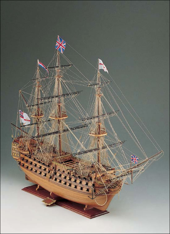 The Modeller's Workshop » Corel SM23 HMS Victory 1/98 scale wood ship kit
